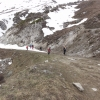 Val d\'Isère, Tour de Charvais, sortie SCIG, pâques 2014